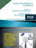 actividadonce-mediosinalambricosyalambricos-111007142036-phpapp01