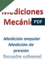 Mediciones mecánicas