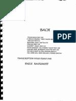 E. Naumoff, Bach Piano Transcriptions