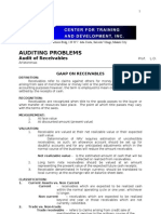 Audit of Receivables-1