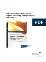 Sap SRM Supplier Relationship Management