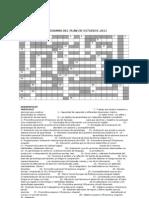 Crucigrama Del Plan de Estudios 2011