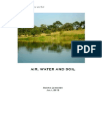 Air, Water and Soil Unit Study Guide