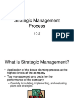 Strategic Management Process.