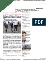 Cấm quần ống bó_ 'Trường học không phải sân khấu' - VietNamNet