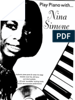 Nina Simone. Play Piano With Nina Simone