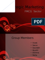 Strategic Marketing - FMCG Sector