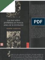 125270418 Robert Darnton Los Best Sellers Prohibidos en Francia Antes de La Revolucion