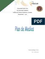 Plan de Medios Ysamar