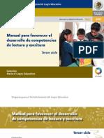 Manusal p Favorecer Lectuta y Esc Iciclo3