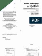 WEBER, Max. A ética protestante e o espírito do capitalismo. (Pioneira).pdf