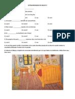 GUIA DEL EXAMEN EXTRAORDINARIO DE INGLÉS II