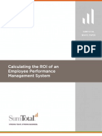 Calculating ROI of EPM WP 0108