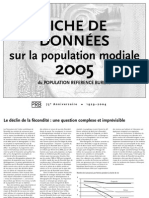 PRB_Population Mondiale 2005