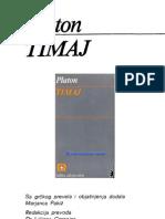Platon - Timaj