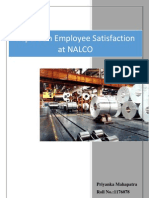 Employment satisfaction at NALCO