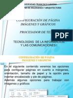 Configuracion de Pagina Imagene y Graficos