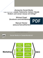 IHK - Intro Social Media Marktplatz