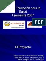 PPT Educacionsalud