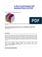 Cara Kompres File 3