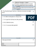 2013 Training Sheet 2 - Def. Transition 1