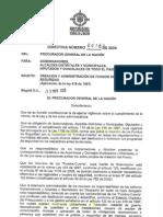 Directiva de La Procuradur a N 011 de Mayo 13 de 2008 1
