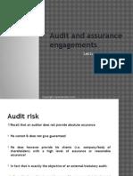 F8 Lecture 6 Audit Risk