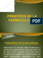 PRICIPIOS FARMACOLOGIA