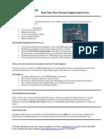 Pore Pressure Engineering Service