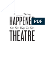 A ___ Thing Happened on the Way to the Theatre