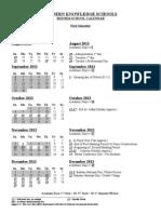 school calendar 2013-2014 as of june