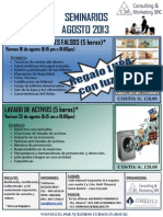 Seminarios Agosto 2013