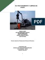 Acidificacion-fracturamiento y Limpieza de Pozos