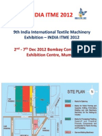 INDIA ITME 2012-Presentation