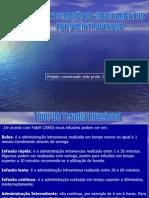 ADMINISTRAÇÃO DE MEDICAMENTOS IV