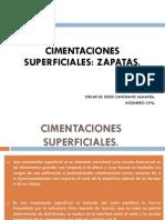 Cimentaciones Superficiales Zapatas Unimag
