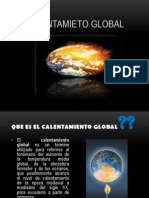 Calentamieto Global