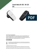 Nokia BH-300 / BH-320, Manos Libres Bluetooth, Manual