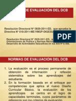 Normas de Evaluacion