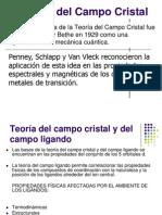 Teoria Del Campo Cristal