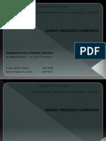 Propuesta de intervención en el Barrio Carlos Gardel-Pte Sarmiento (Bertune-Arango)