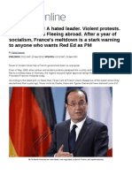 After a Year of Socialism, France's Meltdown is a Stark Warning to Anyone Who Wants Red Ed as PM