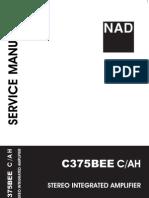 NAD C375BEE service manual
