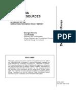 PV Potential California NREL Study