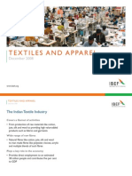 Indian Textiles Industry Presentation 010709