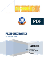 Fluid mechanics Manual