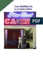 The Die is Cast Buddhist Sri Lanka Faces a Casino Choice