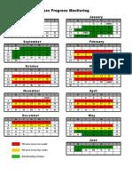Progress Monitoring Schedule Schedule 2013-14