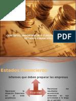 CONCEPTO, IMPORTANCIA Y CLASIFICACIÓN DE LOS ESTADOS