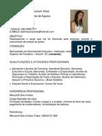 Curriculum Maria Isabel